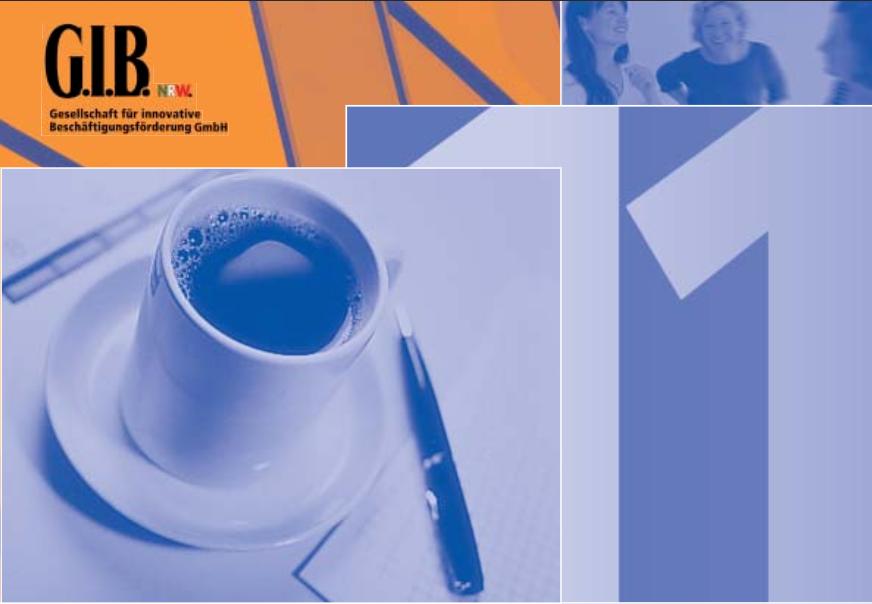 """G.I.B. Arbeitspapier 11 """"Prozesse begleiten – Qualität sichern"""""""