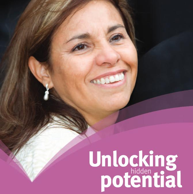 """""""Unlocking hidden potential"""" – Women in Europe."""