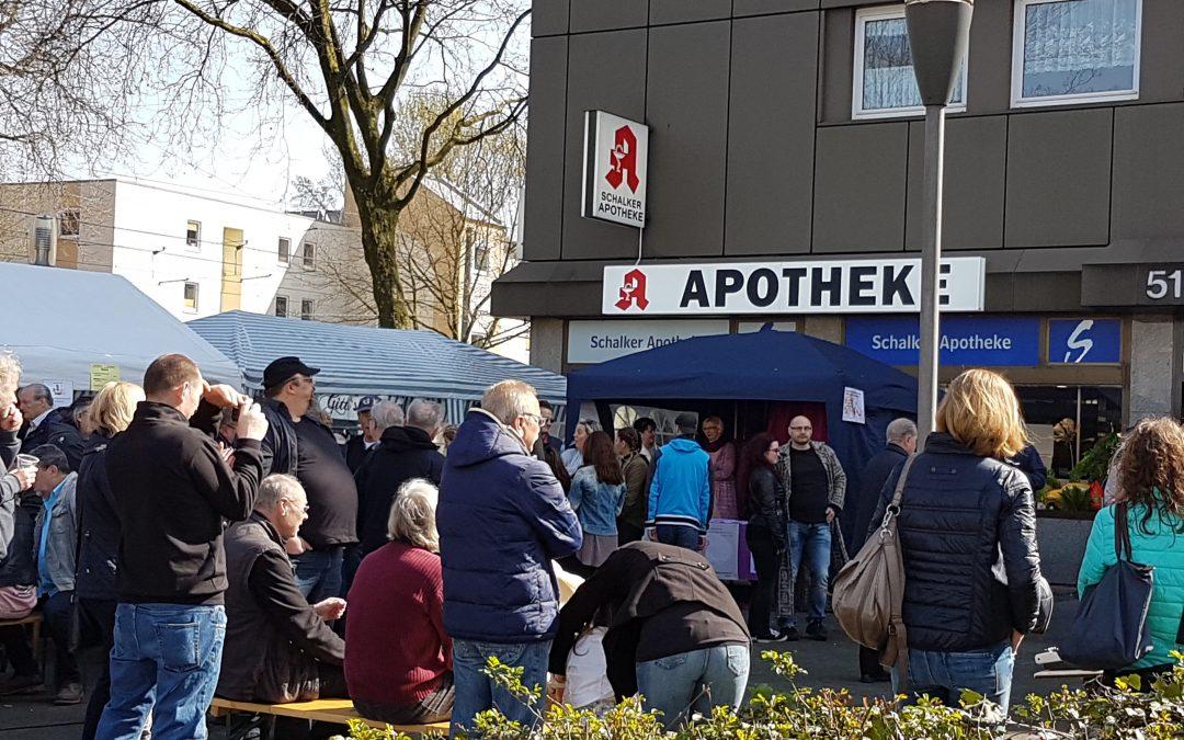 """""""Baustelleneröffnungsparty"""" 26.03.17 auf dem Grilloplatz in Schalke"""