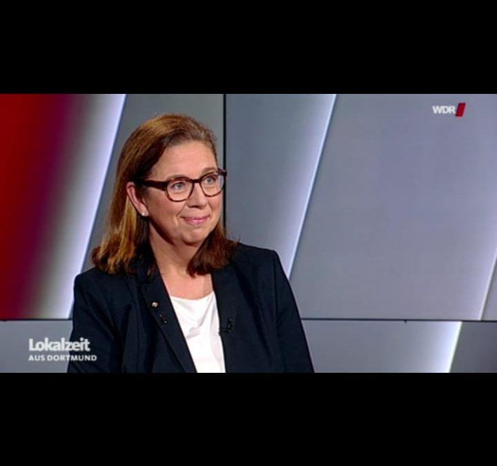 Jutta Beyrow bei Lokalzeit Dortmund
