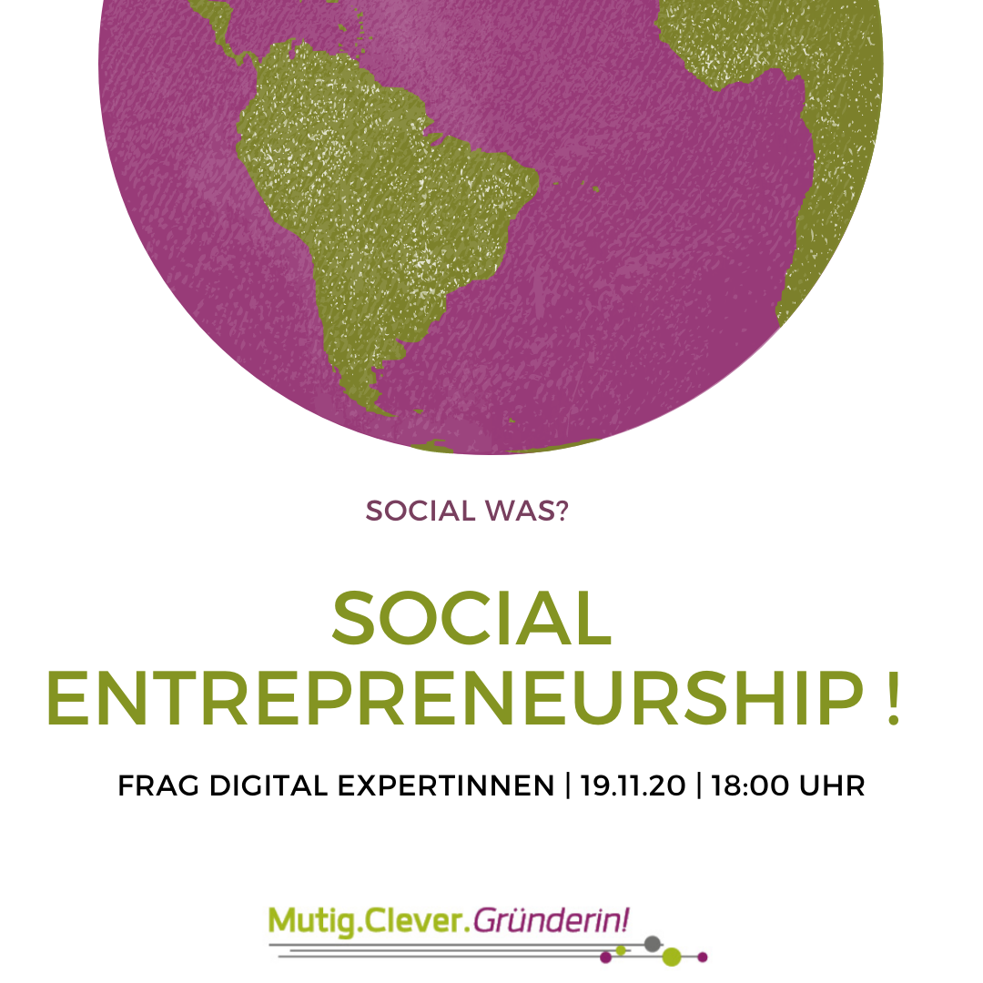 Social Entrepreneurship – was ist das?